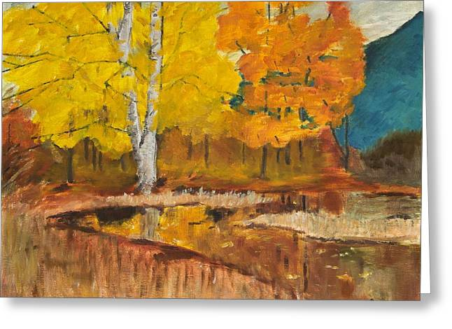 Autumn Tranquility Greeting Card