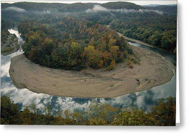 Autumnal View Of One Of The Loops Greeting Card by Randy Olson