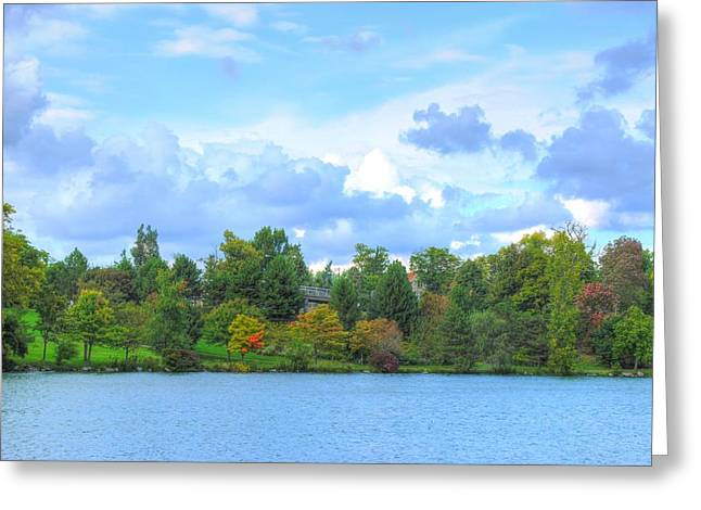 Greeting Card featuring the photograph Autumn's Beauty At Hoyt Lake by Michael Frank Jr