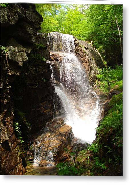 Avalanche Falls Greeting Card