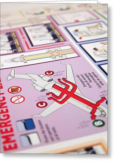 Aviation Information IIi Greeting Card by Ricky Barnard