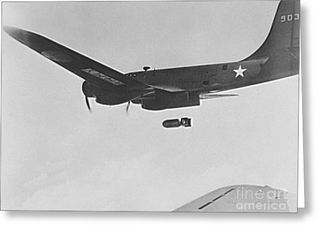 B17 Flying Fortress Bomber Greeting Card by Padre Art