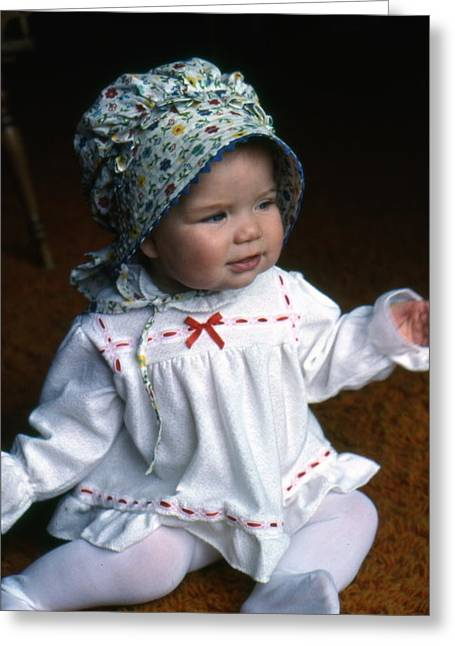 Baby Jessica Greeting Card