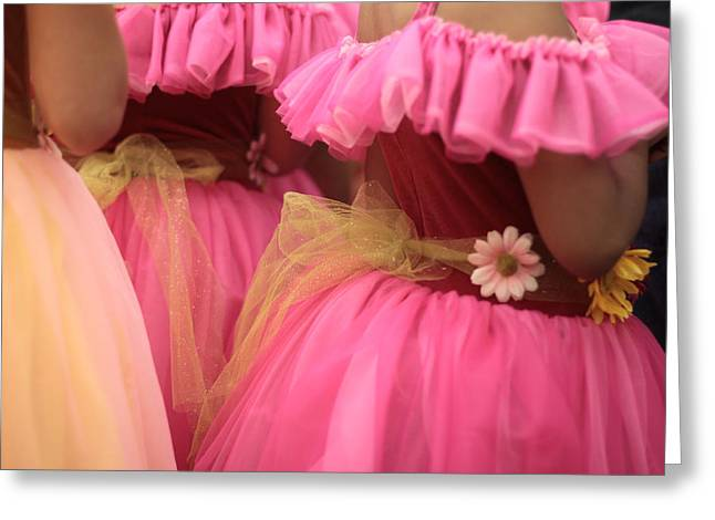 Baby Tutus Greeting Card by Denice Breaux