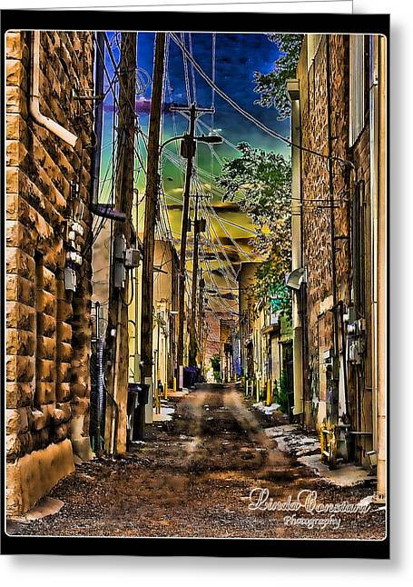 Back Alley Greeting Card