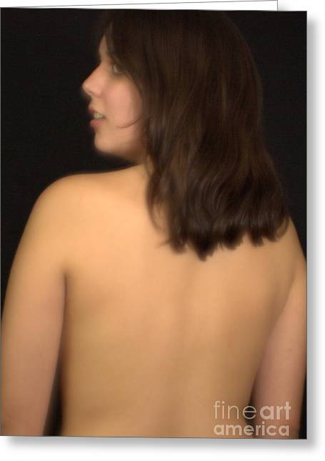 Back Look Greeting Card