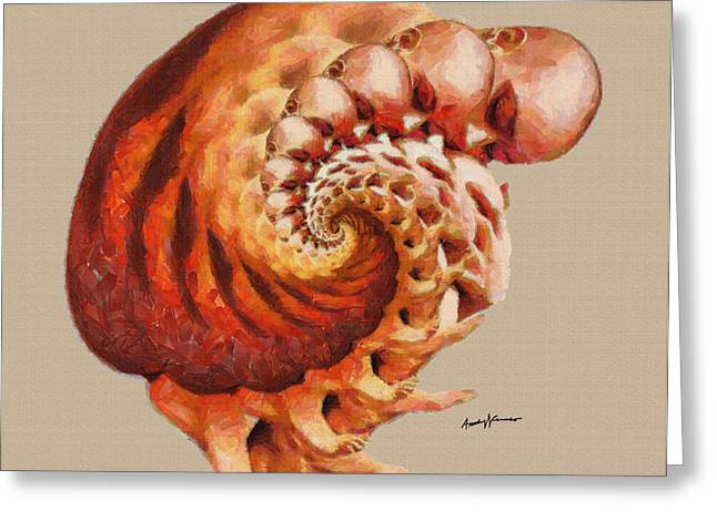 Back To The Womb Greeting Card by Anthony Caruso