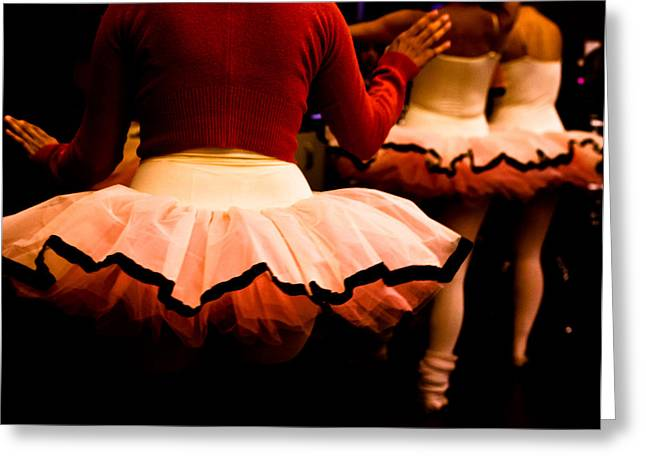 Backstage Greeting Card by Denice Breaux