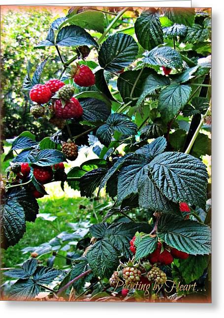 Backyard Berries Greeting Card