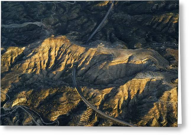 Bad Lands Granada Spain Greeting Card by Guido Montanes Castillo