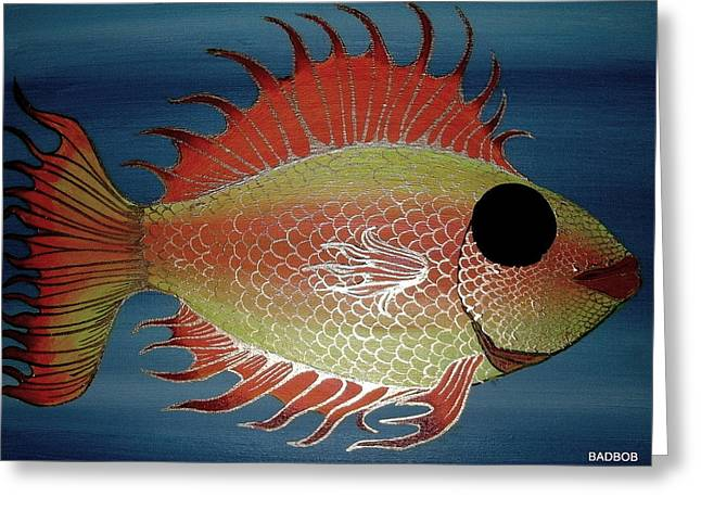 Badfish Greeting Card