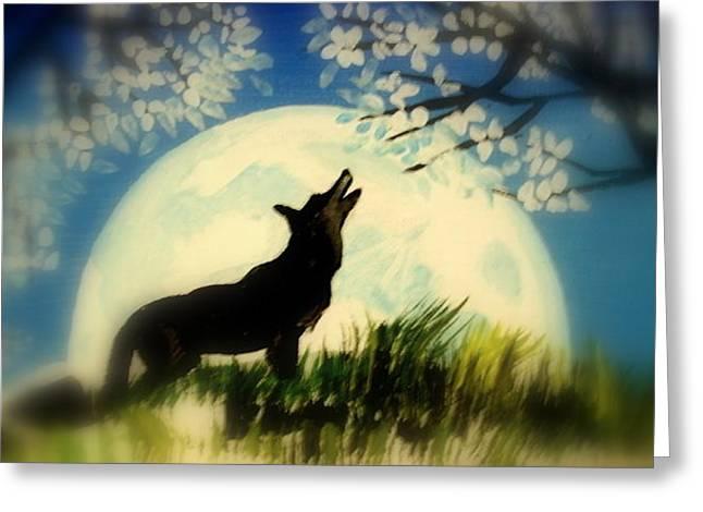 Badwolf Greeting Card