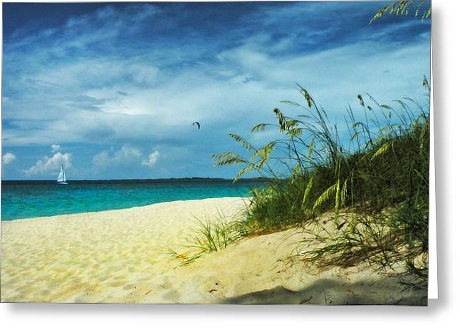 Greeting Card featuring the photograph Bahamas Afternoon by Deborah Smith