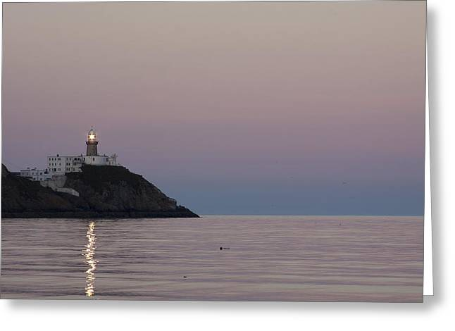Baily Lighthouse Howth Greeting Card by Dave McManus