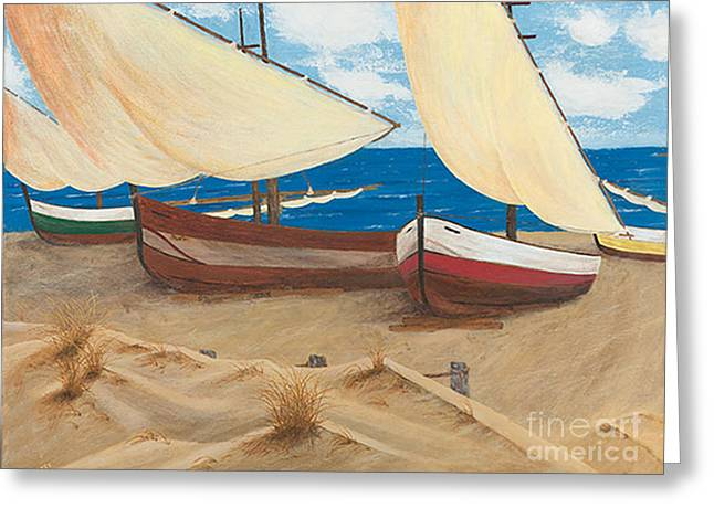 Baja Beach Dunes Greeting Card