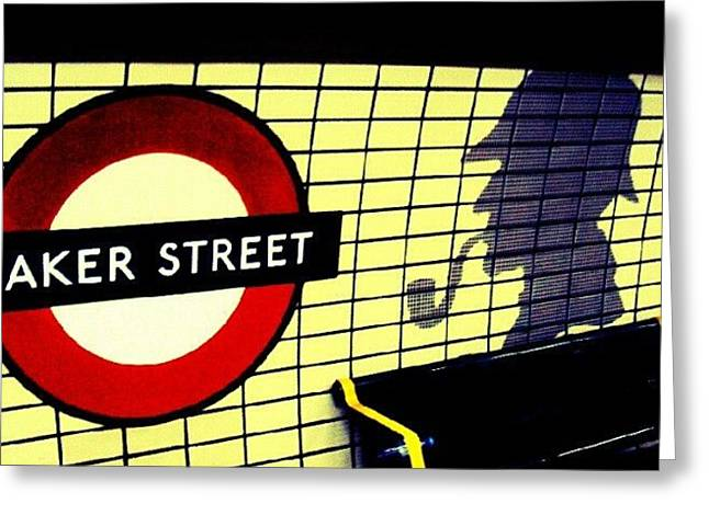 Baker Street Station, May 2012 | Greeting Card by Abdelrahman Alawwad