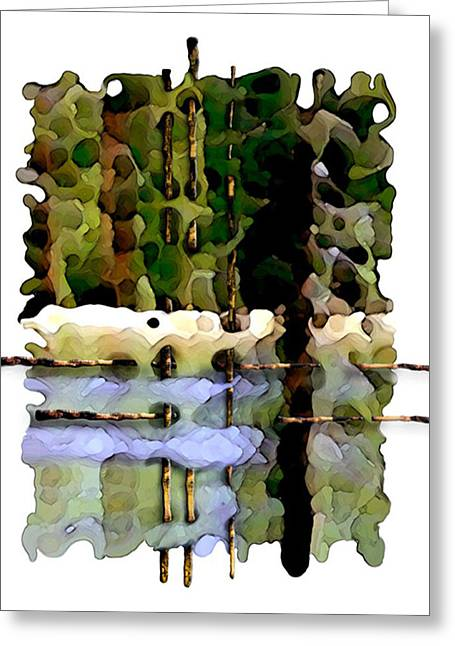 Balance Of Nature Greeting Card by Brenda Leedy