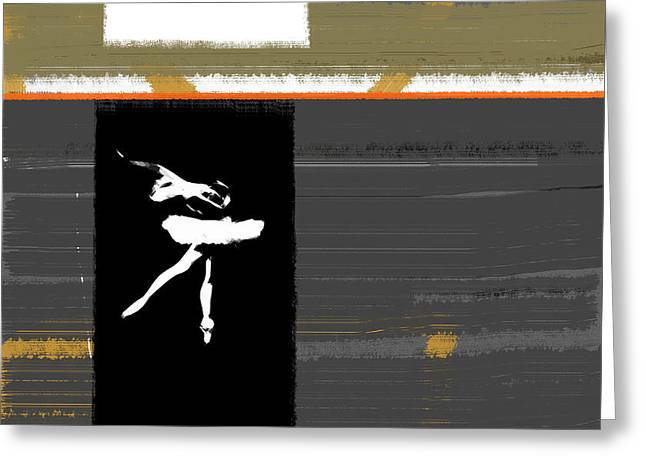 Ballerina  Greeting Card by Naxart Studio