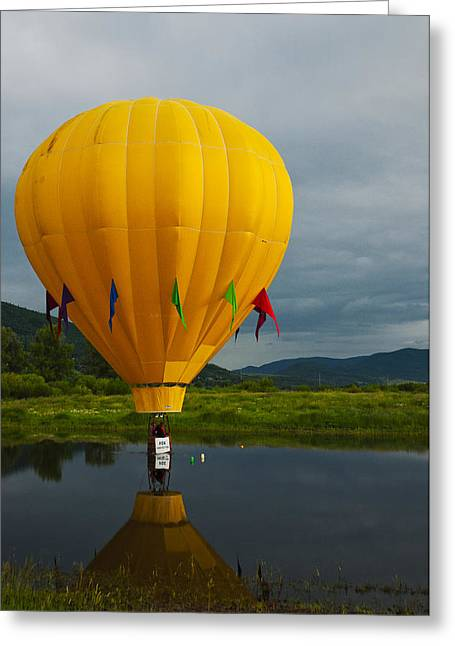 Balloon At Festival Greeting Card