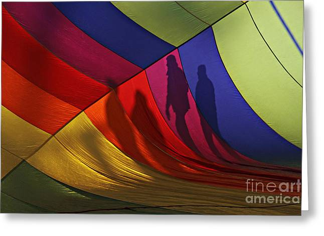 Balloon Shadows Greeting Card
