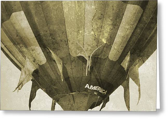 Ballooning II Greeting Card