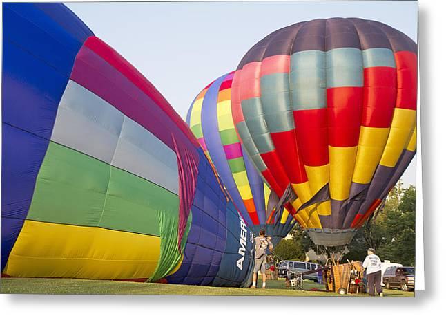 Balloons Greeting Card by Betsy Knapp
