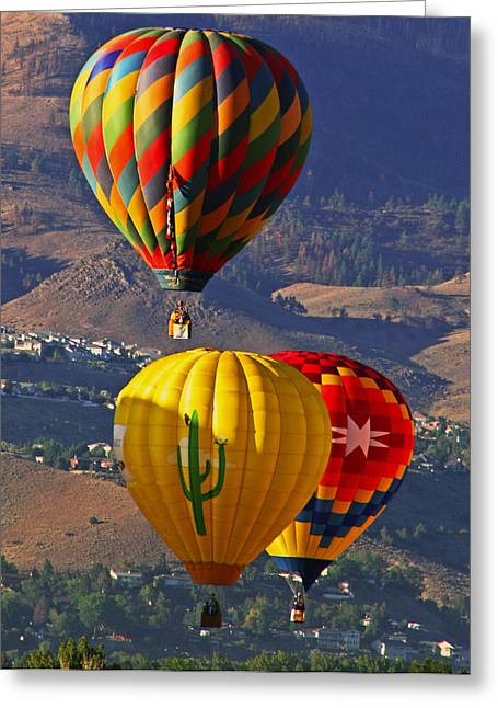 Balloons Over Reno Photograph By Dorothy Cunningham