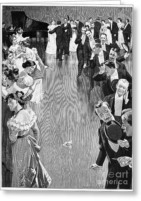 Ballroom, C1900 Greeting Card by Granger