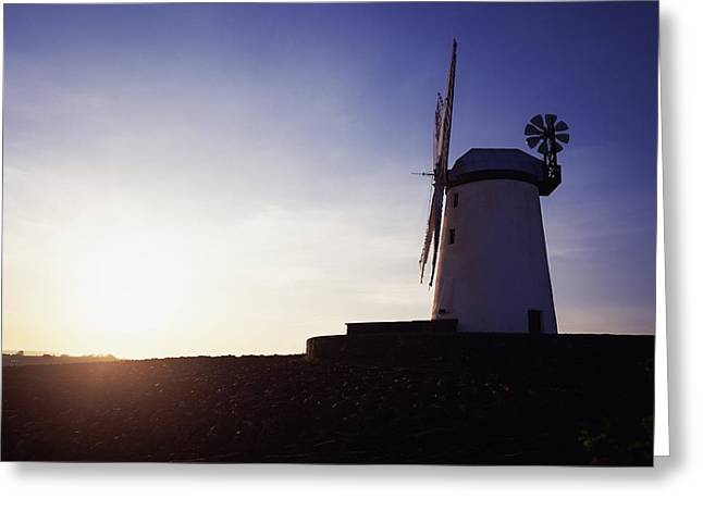 Ballycopeland Windmill, Co. Down Greeting Card by The Irish Image Collection
