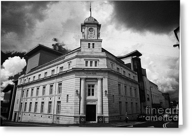 Ballymena Town Hall Now Part Of The Braid Museum And Arts Complex Ballymena  Greeting Card