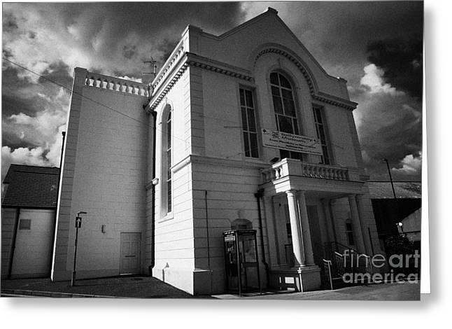 Ballymoney Town Hall And Museum County Antrim Northern Ireland Greeting Card by Joe Fox