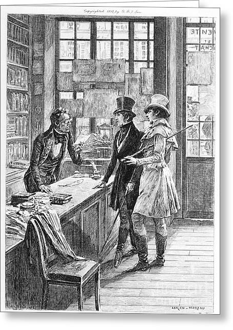 Balzac: Illustration Greeting Card by Granger