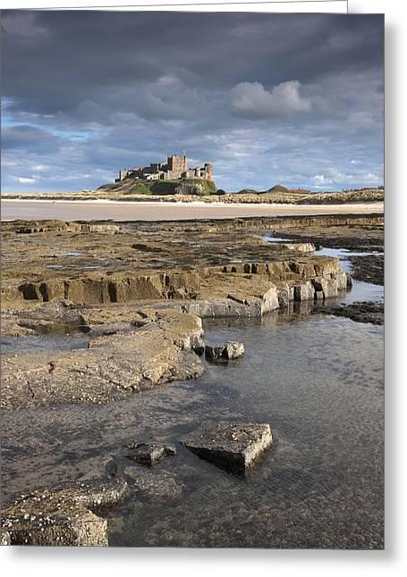 Bamburgh, Northumberland, England Greeting Card by John Short