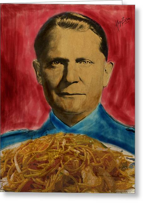 Bami Goering Greeting Card by Nop Briex