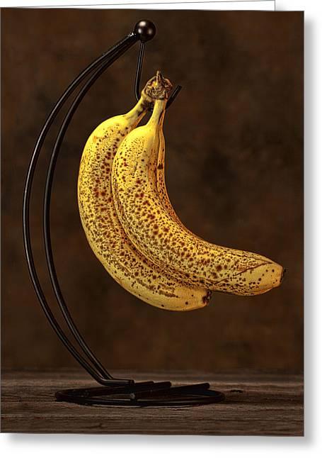 Banana Still Life Greeting Card by Tom Mc Nemar