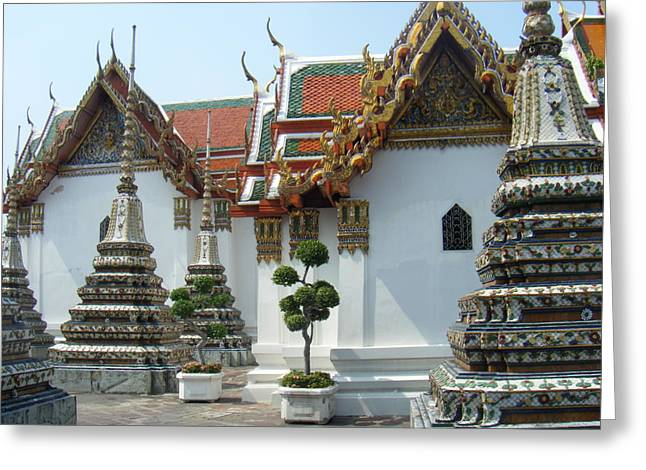 Bangkok Tample Greeting Card