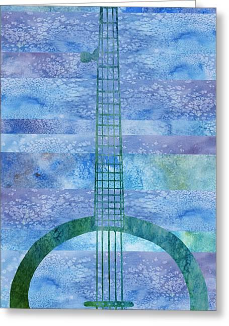 Banjo Mesa Greeting Card by Jenny Armitage