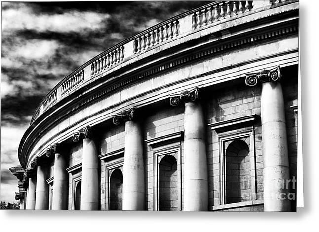 Bank Of Ireland Greeting Card by John Rizzuto