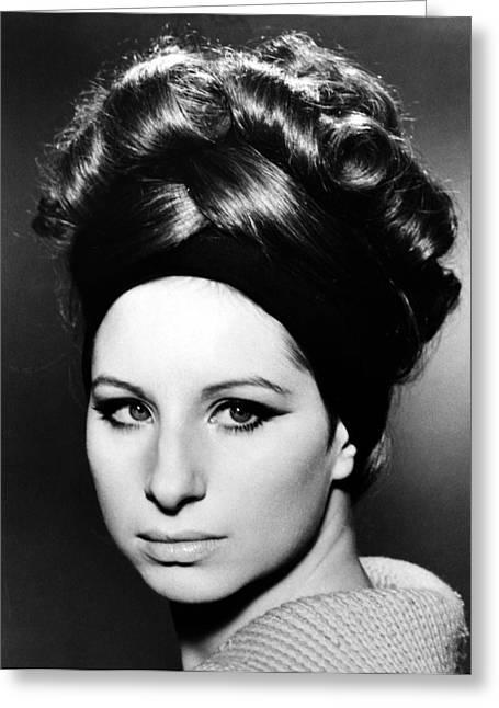 Barbra Streisand (b.1942) Greeting Card by Granger