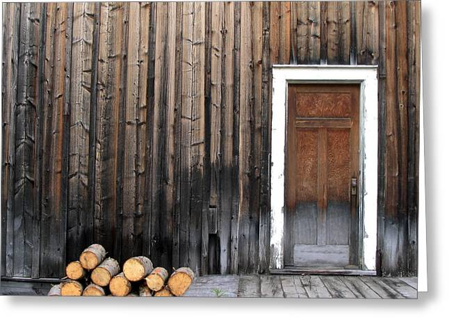 Barkerville Back Porch Greeting Card