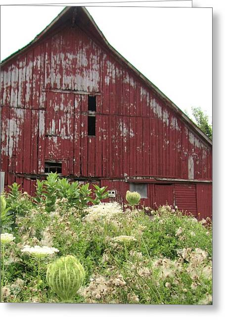 Barn-25 Greeting Card by Todd Sherlock