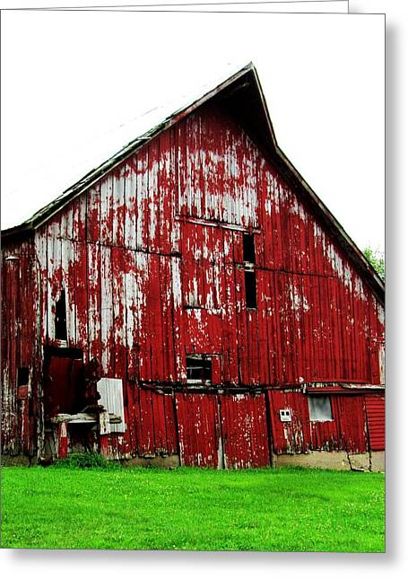 Barn-26 Greeting Card by Todd Sherlock