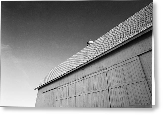 Barn At Eble Park Greeting Card by Jan W Faul