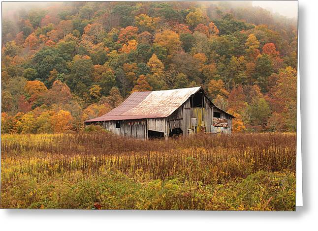 Barn On Locust Road Greeting Card