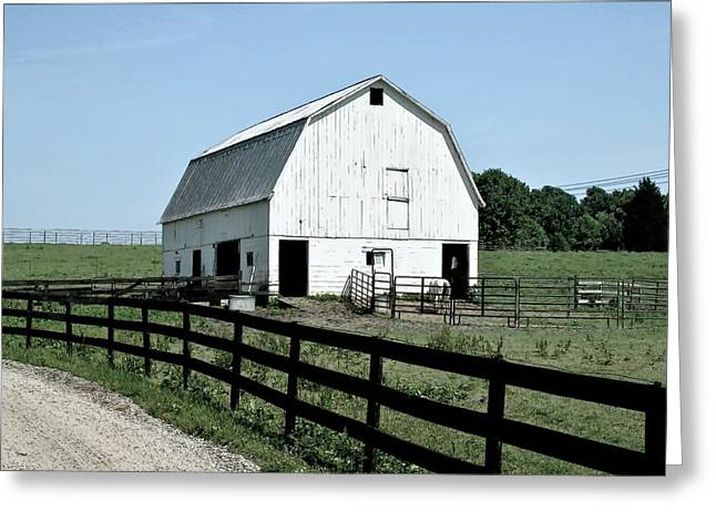 Barn Yard Greeting Card