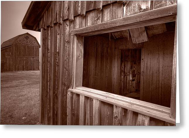 Barns Grand Tetons Greeting Card by Steve Gadomski