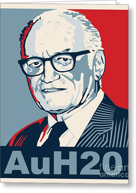 Barry Goldwater Greeting Card by John L