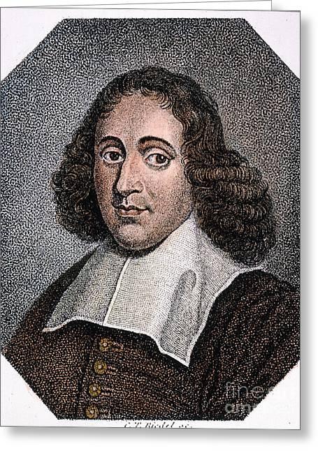 Baruch Spinoza (1632-1677) Greeting Card by Granger