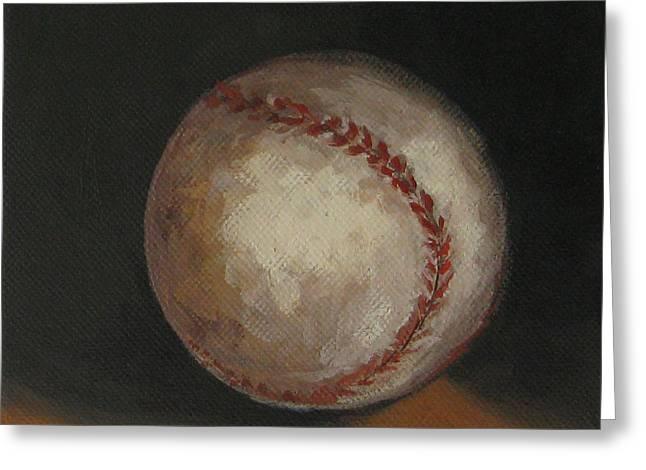 Baseball Greeting Card by Torrie Smiley