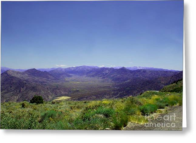 Basin - Canyon 9000 Feet   Greeting Card